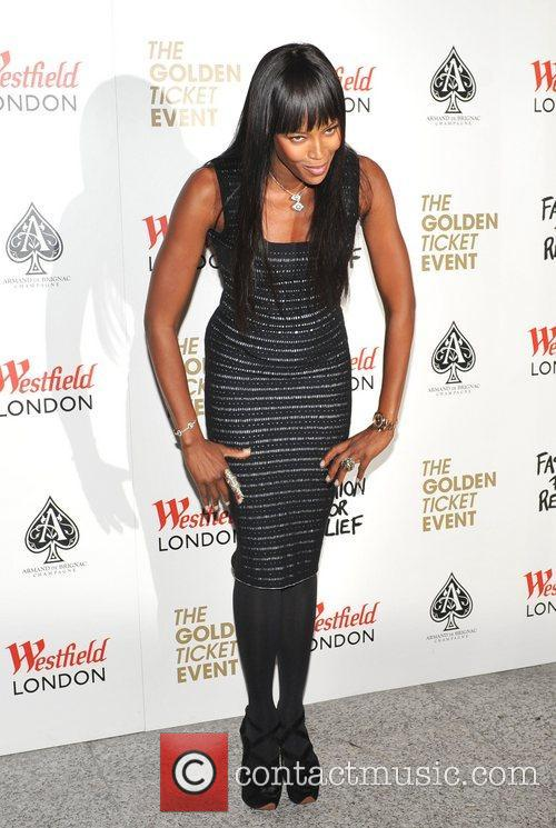 Naomi Campbell Naomi Campbell launches Fashion For Relief...