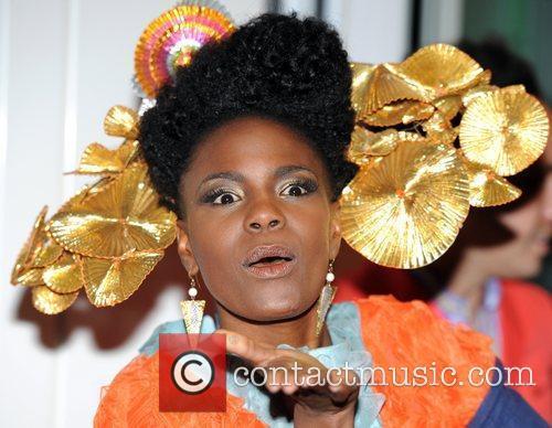 Shingai Shoniwa Naomi Campbell launches Fashion For Relief...