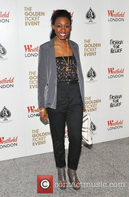 Beverley Knight Naomi Campbell launches Fashion For Relief...