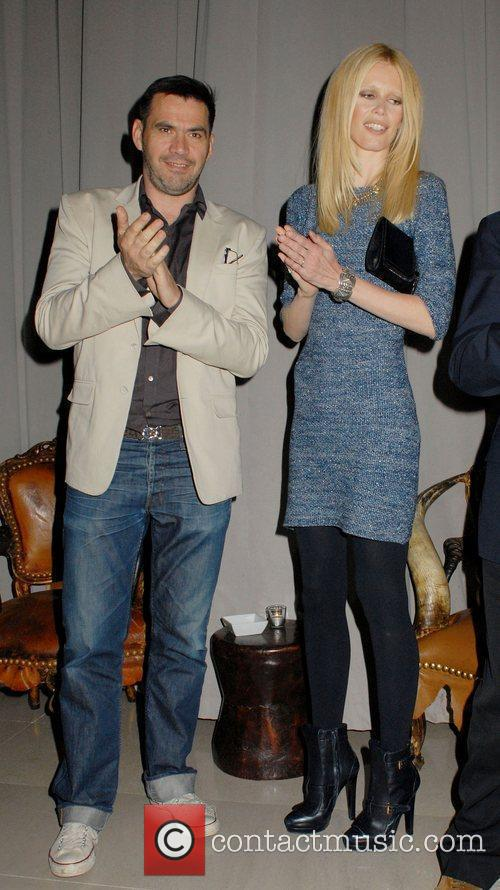Roland Mouret and Claudia Schiffer 10