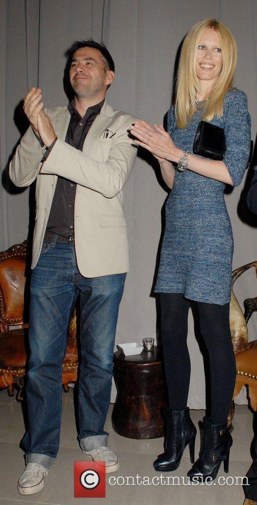 Roland Mouret and Claudia Schiffer 3
