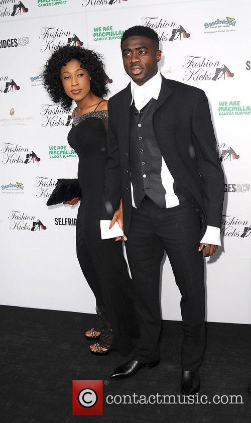 Picture - Kolo Toure and wife Manchester  England  Sunday 15th May    Yaya Toure Wife And Kids