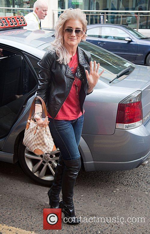 Celebrities arrive in Belfast ahead of the 'FATE...
