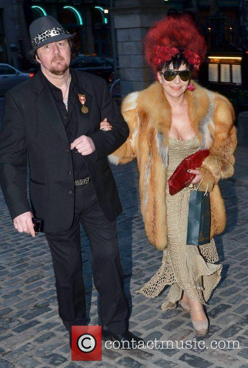 Gary Connolly and Maria Fusco arrives at the...