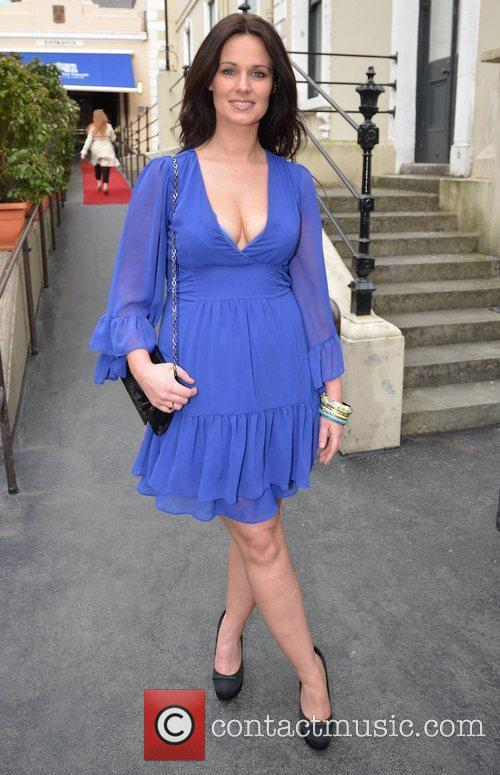 Nadia Power arrives at the Faye Dinsmore's Fashion...