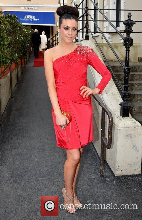 Suzanne Jackson arrives at the Faye Dinsmore's Fashion...