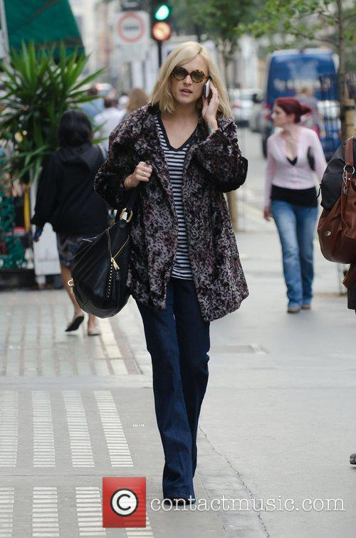 Fearne Cotton  arriving at BBC Radio One...