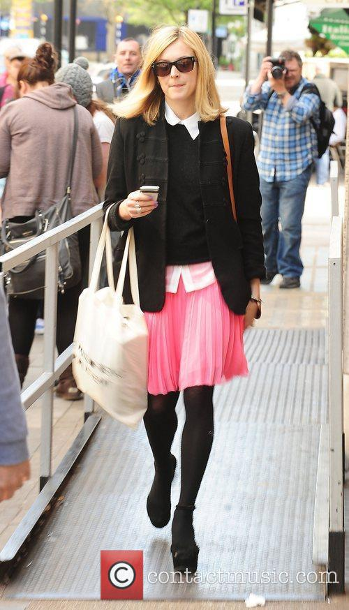 Fearne Cotton leaves at BBC Radio One studios...