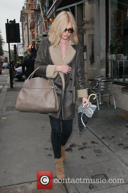 Fearne Cotton  out and about in central...