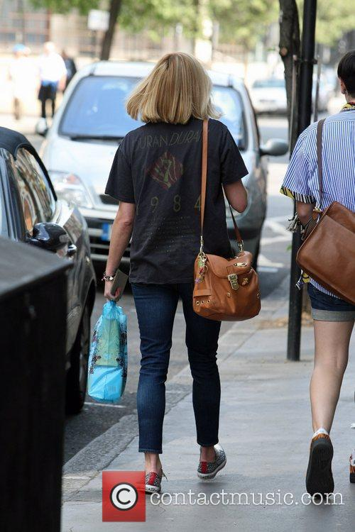 Fearne Cotton wearing a Duran Duran t-shirt as...