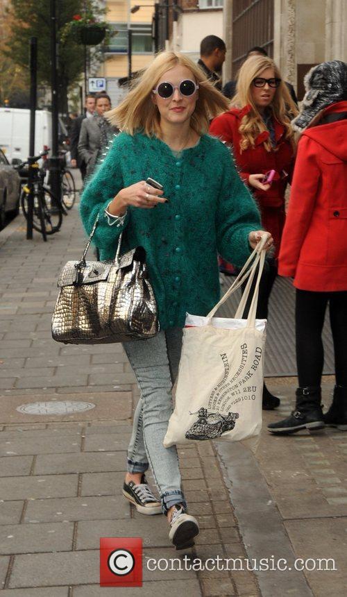 Fearne Cotton  outside the BBC Radio 1...