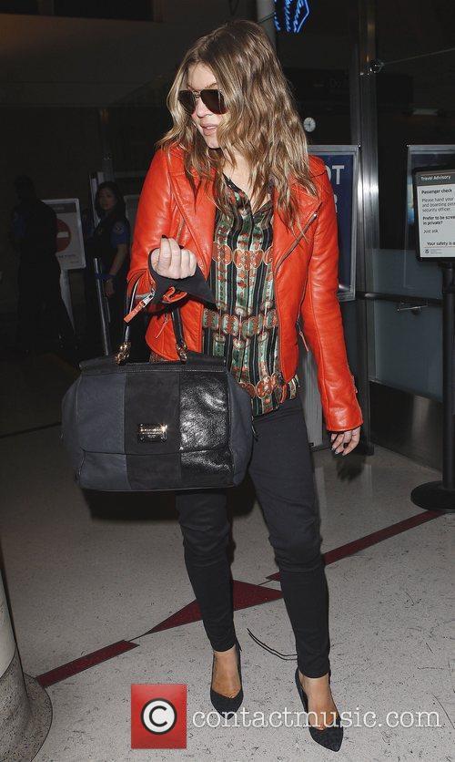 Stacey Ferguson aka Fergie arrives at LAX on...