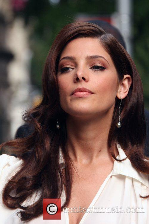 Ashley Greene attends the Ferragamo presentation for their...