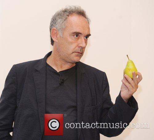 Ferran Adria  at an 'Evening with Ferran...
