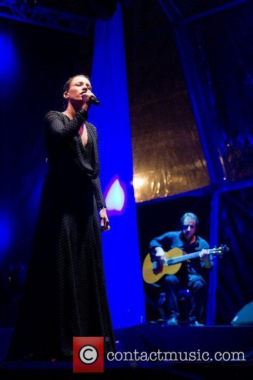 Carminho  performing live at the Festas do...