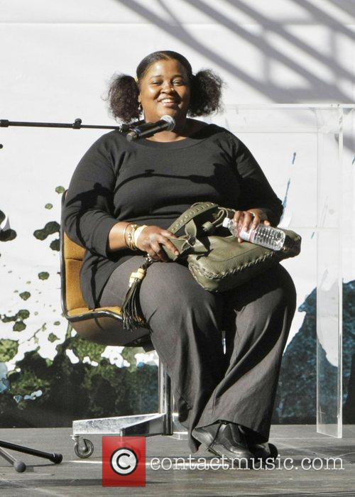 Sister Souljah Celebrities seen at the LA Times...