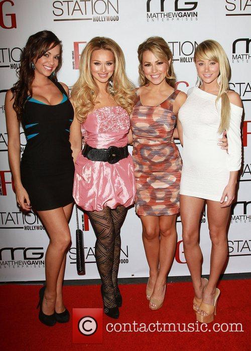 Katerina Vanderhaam, Jessica Hall, Sara Underwood Jessica Hall...
