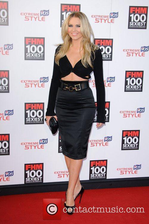 Zoe Salmon FHM 100 Sexiest Women In The...