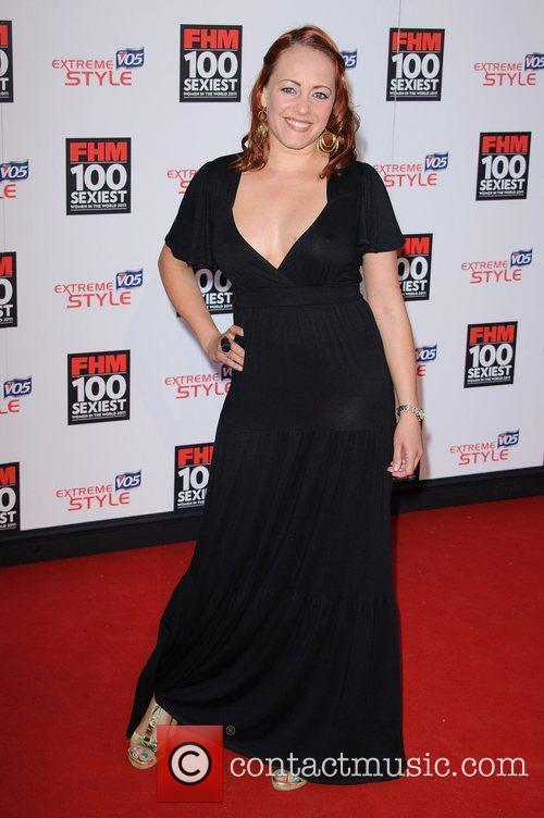 Sarah Cawood FHM 100 Sexiest Women In The...