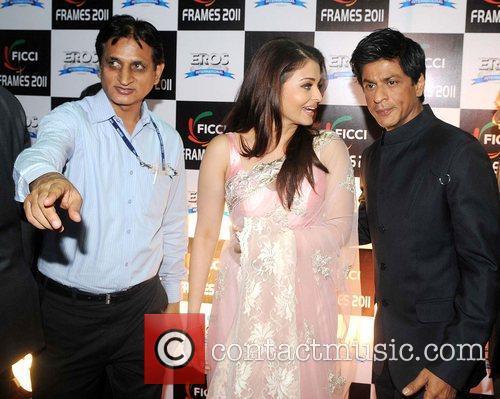 Guest, Aishwarya Rai Bachchan and Shah Rukh Kha...