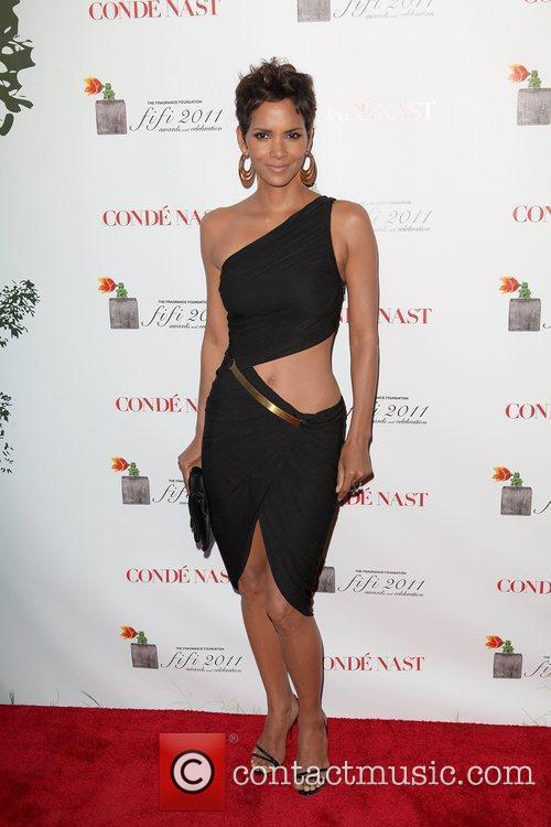 Halle Berry 2011 FiFi Awards at The Tent...