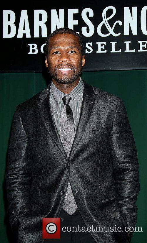 50 Cent aka Curtis James Jackson III signs...