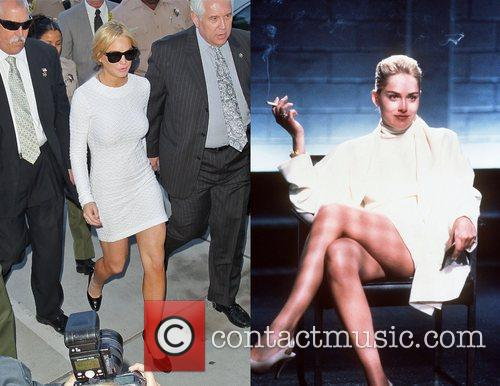 Lindsay Lohan, Basic Instinct and Sharon Stone