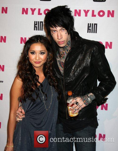 *file photo* * TRACE CYRUS ENGAGED TO SONG...