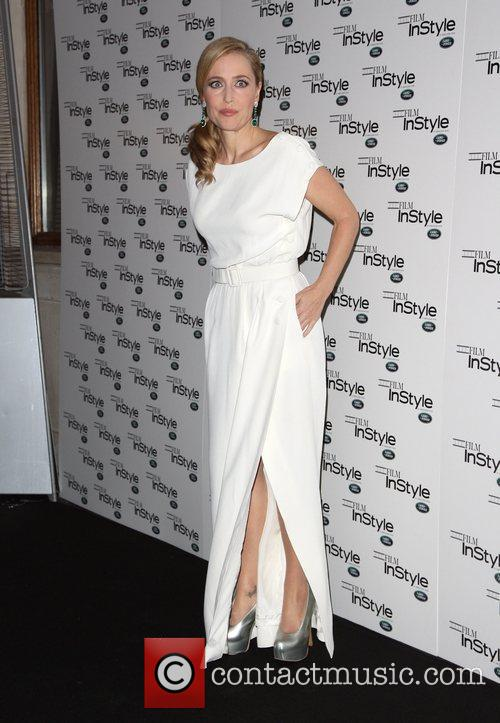 Gillian Anderson Film InStyle Celebrating InStyle Magazine's 10th...