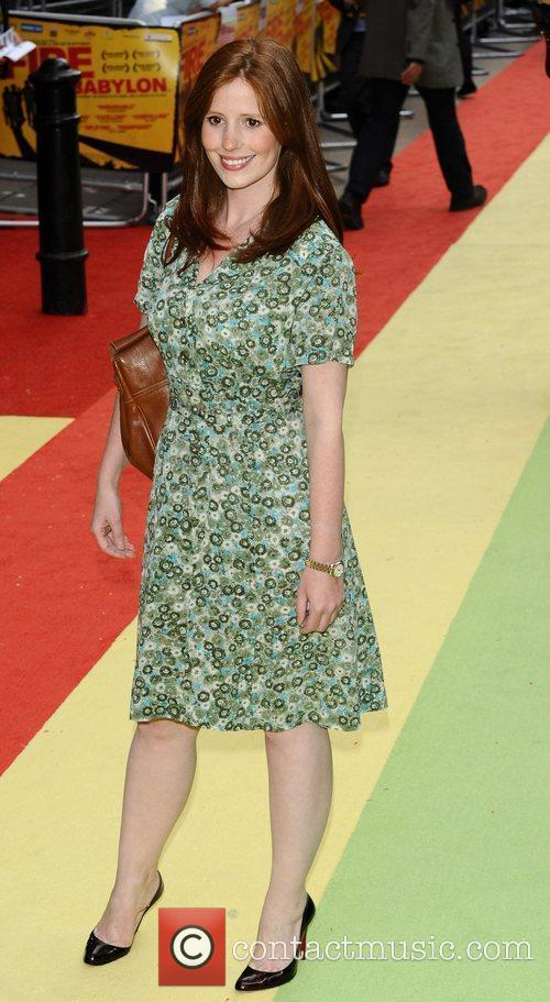 Amy Nutall  UK premiere of 'Fire In...