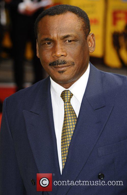Gordon Greenidge UK premiere of 'Fire In Babylon'...