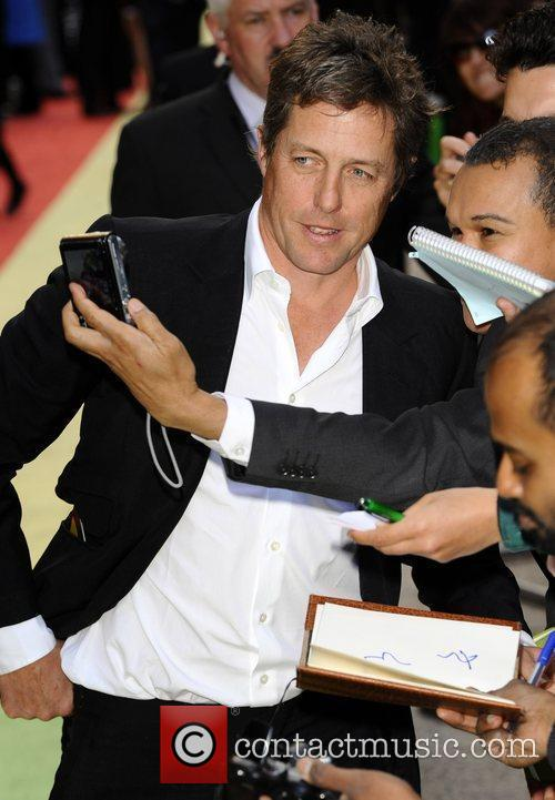 Hugh Grant UK premiere of 'Fire In Babylon'...