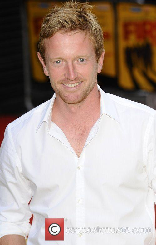 Paul Collingwood UK premiere of 'Fire In Babylon'...