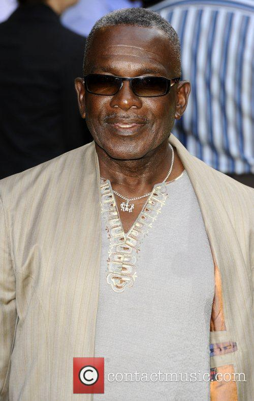 Rudolph Walker UK premiere of 'Fire In Babylon'...