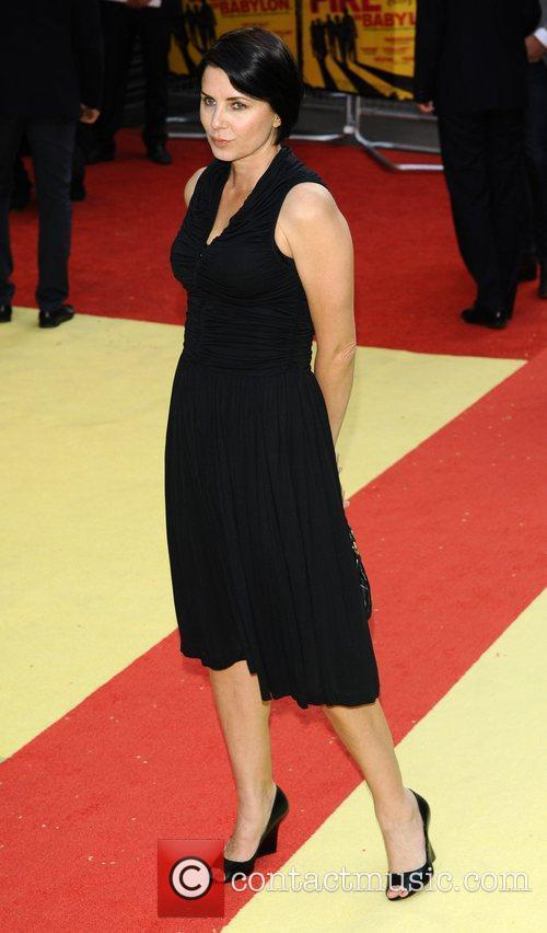 Sadie Frost UK premiere of 'Fire In Babylon'...
