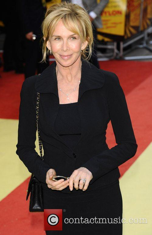 Trudie Styler UK premiere of 'Fire In Babylon'...