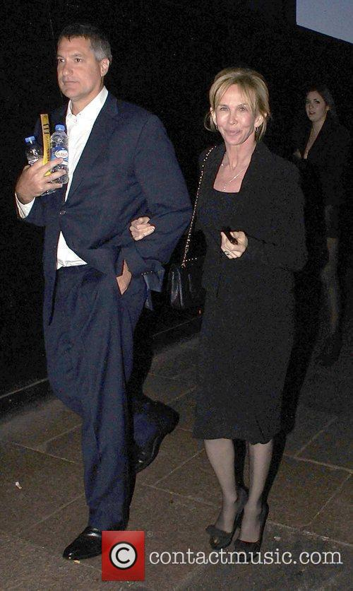 Trudie Styler,  at the UK premiere of...
