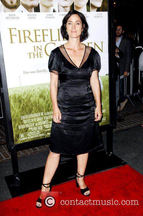 Carrie-Anne Moss  The Premiere of 'Fireflies In...
