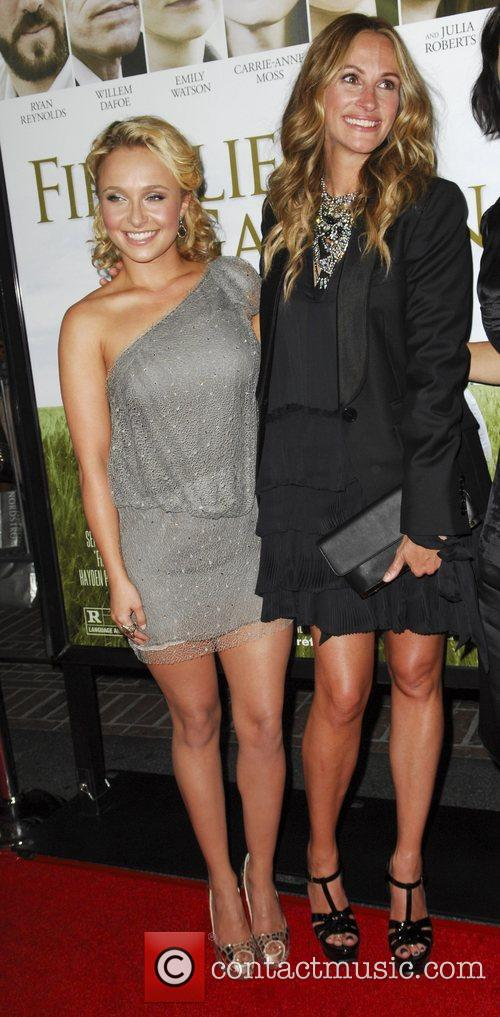 Hayden Panettiere and Julia Roberts 6
