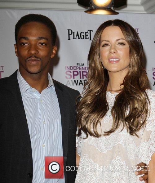 Anthony Mackie and Kate Beckinsale  Piaget at...