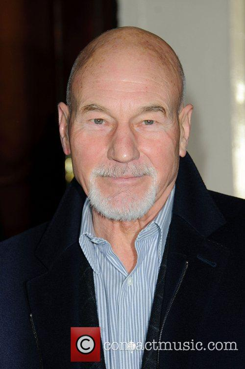 Patrick Stewart at the Gala Preview of 'Flare...