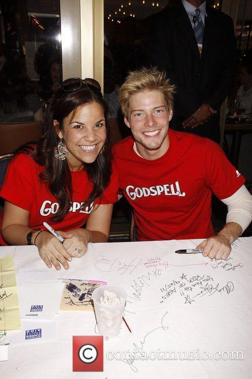 Lindsay Mendez and Hunter Parrish  The 25th...