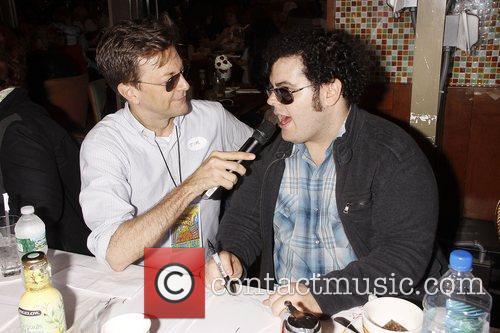 Jim Caruso, Josh Gad and Times Square 1