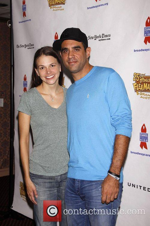 Sutton Foster, Bobby Cannavale and Times Square 3