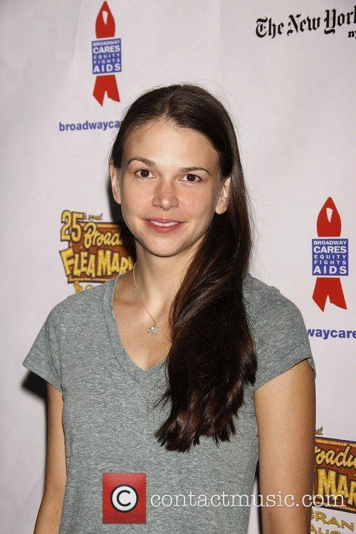 Sutton Foster and Times Square 2