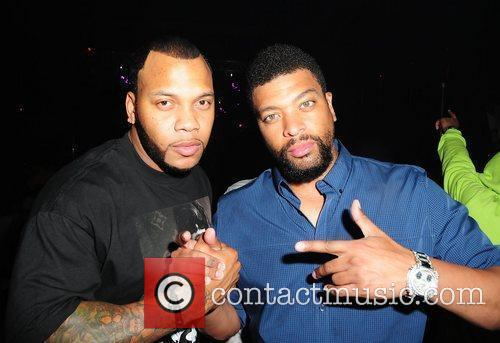 Deray Davis and Flo Rida 2