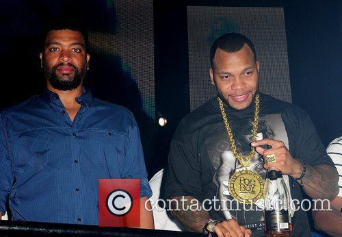 Deray Davis and Flo Rida 5