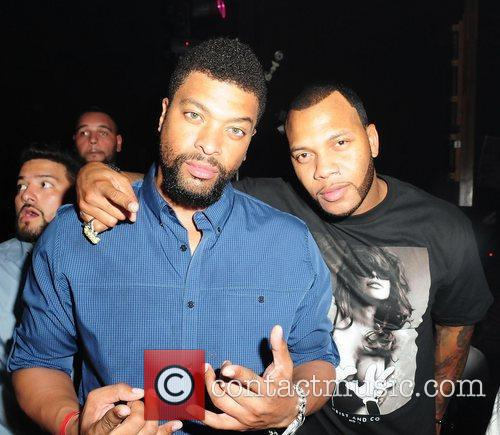 Deray Davis and Flo Rida 1
