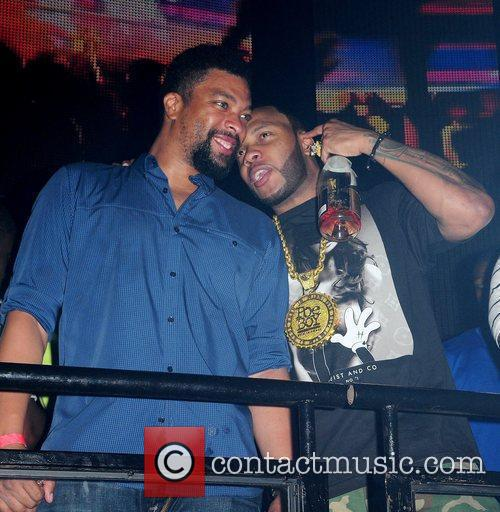 Deray Davis and Flo Rida 4