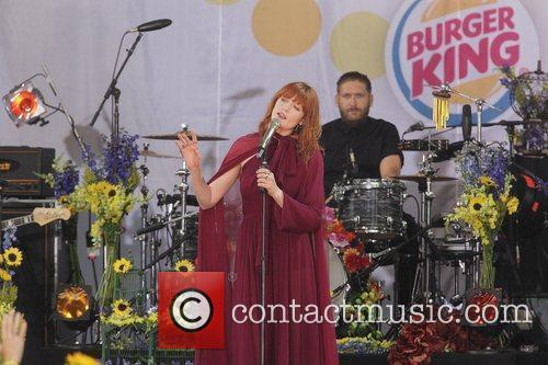 Florence Welch Florence and the Machine performing at...